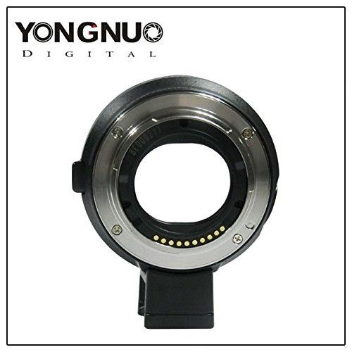 bilder für NEW YONGNUO Smart Adapter EF-E Halterung für Canon EF Objektiv Sony NEX Smart Adapter Mark III (schwarz) EF zu E-Mount