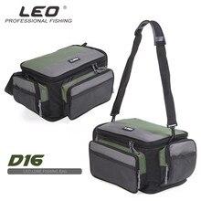 Fishing Reel Gear Bag Waterproof Fishing Bag Large Capacity Multifunctional Lure Fishing Tackle Pack Outdoor Shoulder Bags цены