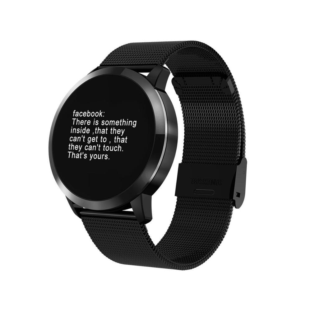 New Q8 Smart Watch Smart Electronics Men Women Waterproof Sport Tracker Fitness Bracelet Smartwatch Wearable Device Dropship