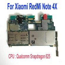 Orijinal kilidini mobil elektronik anakart anakart ile tam devreler Xiaomi RedMi için not 4X not 4 küresel sürüm