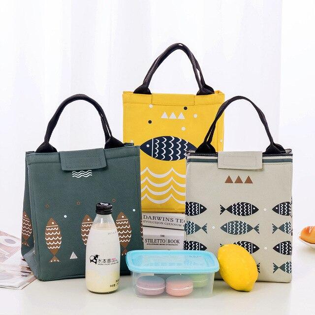Office Tiffin Bag Picnic Storage Bag Heat Preservation - Thermal Hot Meal Carry Bag 2