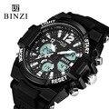 BINZI Brand Men's Watch LED Digital Military Sport Watches Fashion Luxury Business Wristwatches Relogio Masculino Outdoor Watch