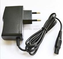 Alta calidad 100 Uds 15V 360mA y 380mA 2 punta enchufe de pared para la UE AC Cargador/adaptador de corriente para PHILIPS Shaver HQ8505 HS8020 HQ8875 S20
