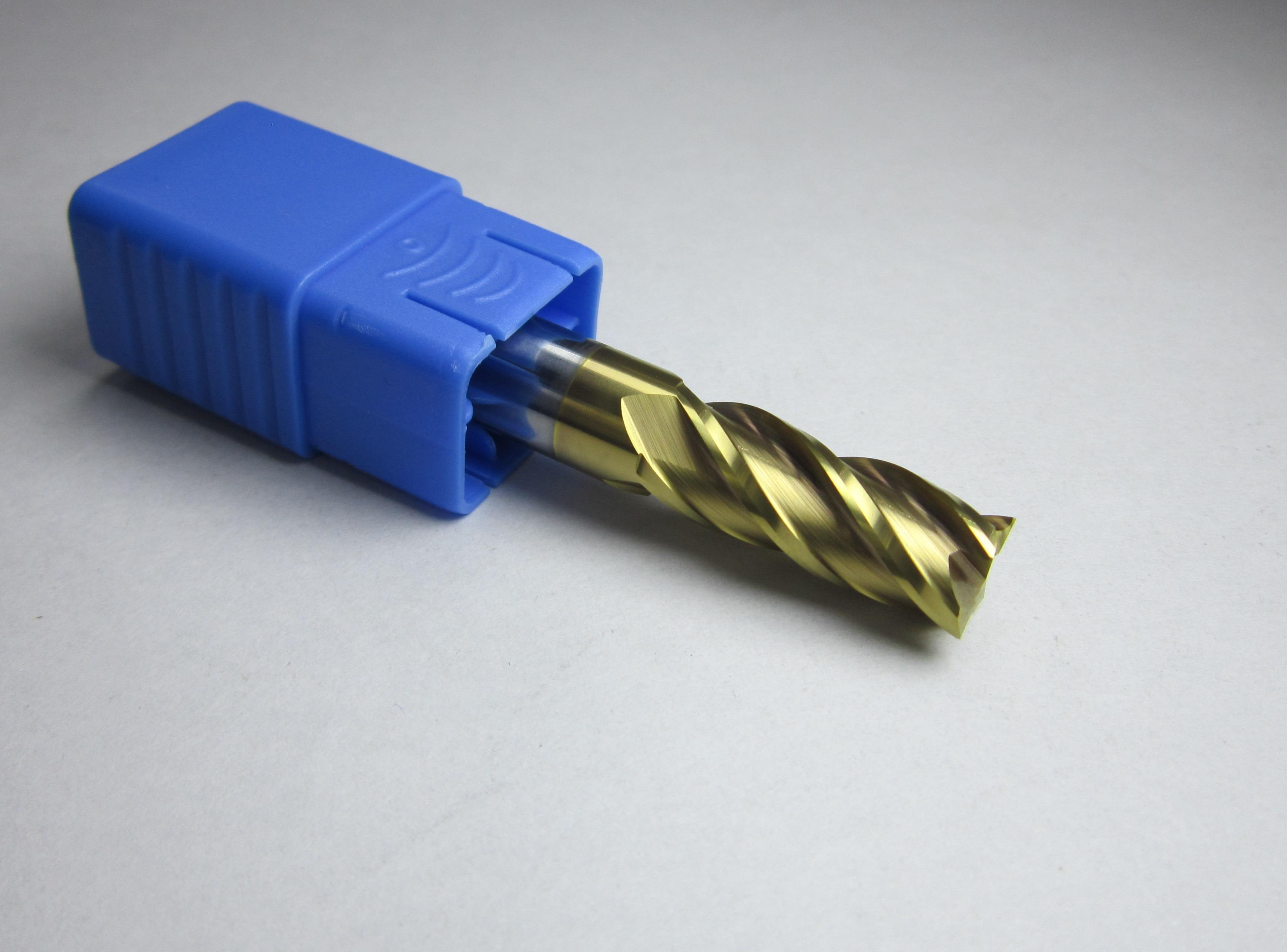 Ø 10mm HRC45 2 flutes Carbide End Mills CNC machine milling cutter bit for steel