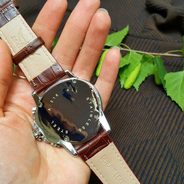 Jaragar marca de luxo relógio masculino automático