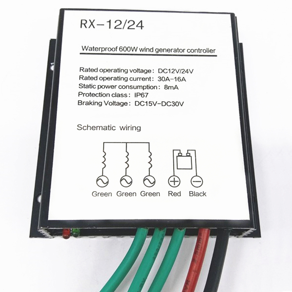 2018 hot selling 600w wind charge controller fit for 12v or 24v 600w rh aliexpress com