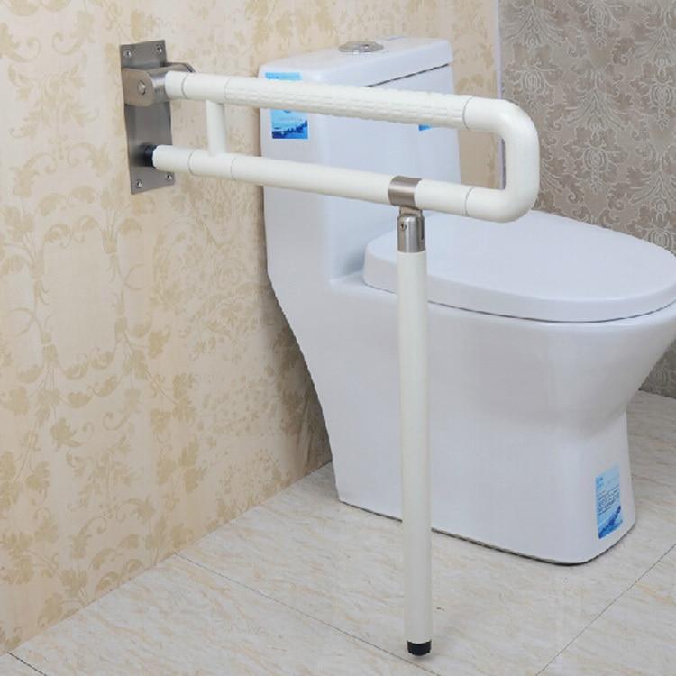 Online Shop Accessible Nylon Handrails Bathroom Toilet With A Folding Leg  Basin Bathroom Handrail Handrails Disabled