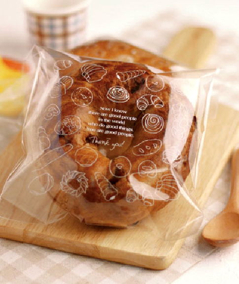 Free Shipping Wholesale Plastic Food Toast Cake Candy Gift