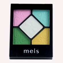MEIS Brand Makeup Cosmetics Professional Makeup 5 Colors Eye Shadow Eyeshadow Palette Matte Eyeshadow Eye Shadow Palette MS0512