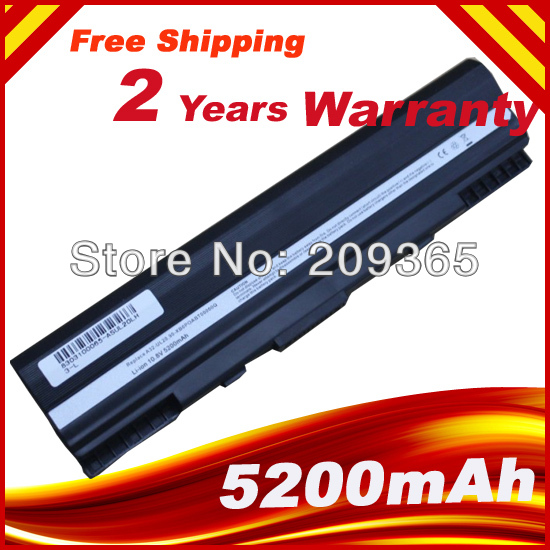 New laptop battery for Asus Eee PC1201HA 1201N 1201T UL20 UL20A UL20G UL20VT A32-UL20  1201N PRO23 UL20 UL20A UL20A-A1New laptop battery for Asus Eee PC1201HA 1201N 1201T UL20 UL20A UL20G UL20VT A32-UL20  1201N PRO23 UL20 UL20A UL20A-A1