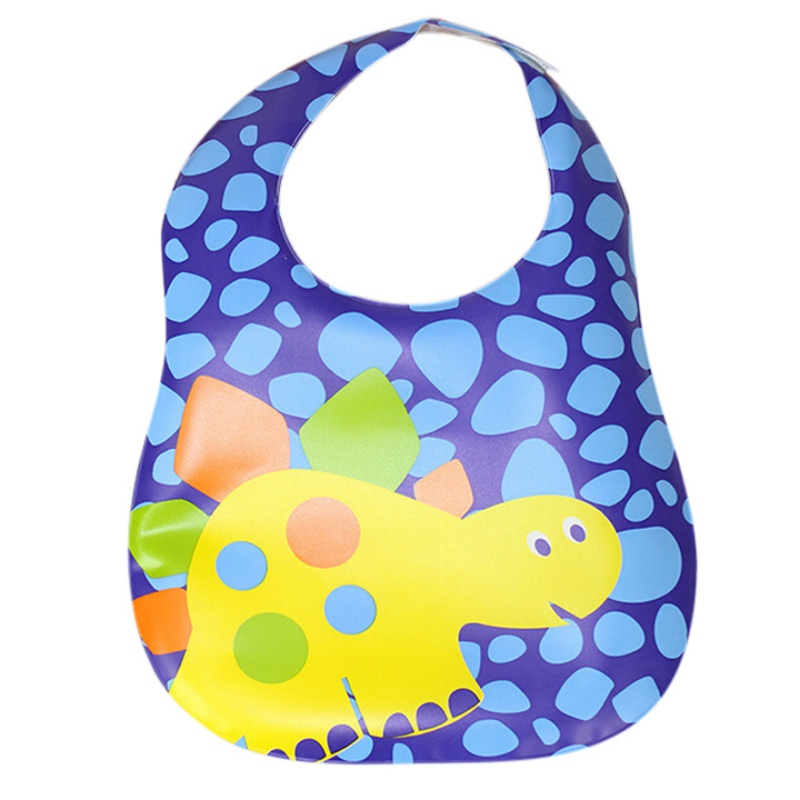 2018 New Design Newborn Baby Bibs Waterproof Silicone Feeding Baby Saliva Towel Wholesale Cartoon Waterproof Aprons Baby Bibs