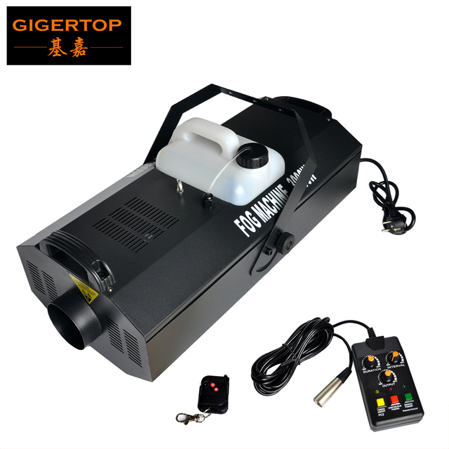 TIPTOP Stage Effect Machine TP-T118 3000W Heavy Fog Machine DMX512/Wireless Remote/Time Quantity Control Big Size High Output