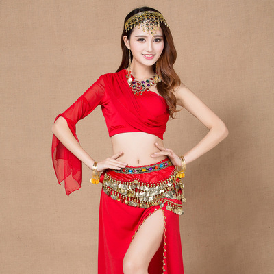 New Style 5 Rows coins belly dance waist chain hip scarf bellydance belt, 11 colors for your choice,