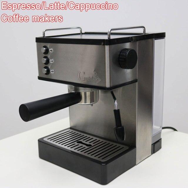 Value Espresso Coffee Maker Stainless Steel Automatic Machine 19 Bar Home Latte Pump Pressure