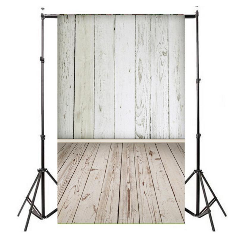0.9*1.5m Photography Studio Backdrop Vertical Light Wood Grain Photo Background Art Cloth Photography Studio Backdrop Decor mari