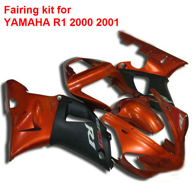 Aftermarket body parts for Yamaha fairings YZFR1 2000 2001 wine red black fairings set YZF R1 00 01 BA78 hot sales for yamaha r1 fairings yzfr1 2007 2008 yzf r1 yzf r1 yzf1000 r1 07 08 red black abs fairings injection molding
