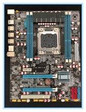 desktop motherboard X79  with USB 3.0 support RECC ram  mainboard LGA 2011  DDR3/ECC 64G 2*PCI-E SATA3 USB3.0