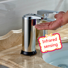 Automatic Liquid Soap Dispenser Toilet Bathroom Countertops Hand Sanitizer Box Shampoo Bottle Home Soap Pump Machine brass polished golden silver hand sanitizer bottle european style bathroom solid counter top appliance soap dispenser a 011