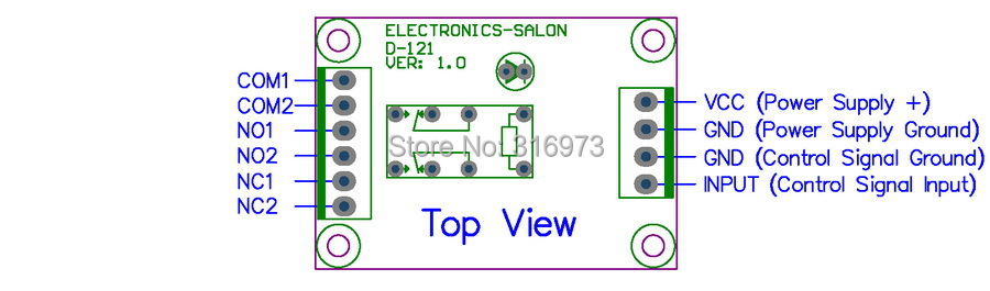 dpdt signal relay module, 5vdc, ry5w k relay has assembled in Residential Electrical Wiring Diagrams dpdt signal relay module, 5vdc, ry5w k relay has assembled in electronics stocks from electronic components \u0026 supplies on aliexpress com alibaba group