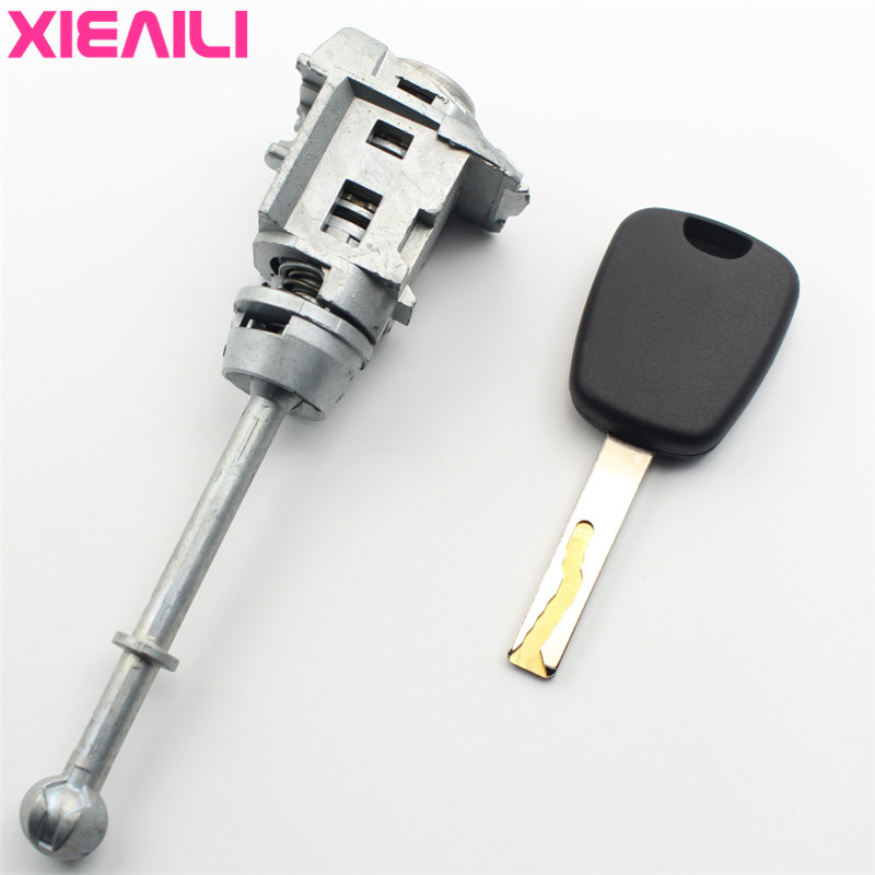 Auto Door Lock >> Us 14 39 10 Off Xieaili Oem Left Door Lock Cylinder Auto Door Lock Cylinder For Peugeot 508 With Groove Blade With 1pcs Key S419 In Locks Hardware