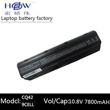 7800MAH laptop battery for hp pavilion g6 DV3 DM4 G32 G4 G42 G62 G7 G72 Compaq CQ32 CQ42 CQ43 CQ56 CQ62 CQ72