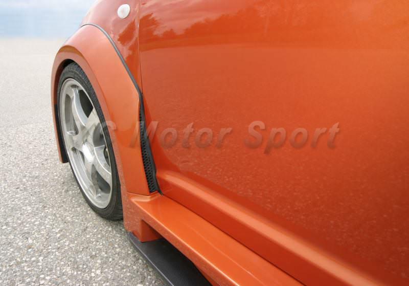 2004-2010 Suzuki SWIFT Königseder Style Wheel Flare Arch CF (3)