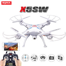 SYMA X5SW RC Drone 2.4GHz 4CH 6Axis With Camera HD WiFi FPV Real-Time Helicopter 3d flight Remote Control Quadcopter Toys