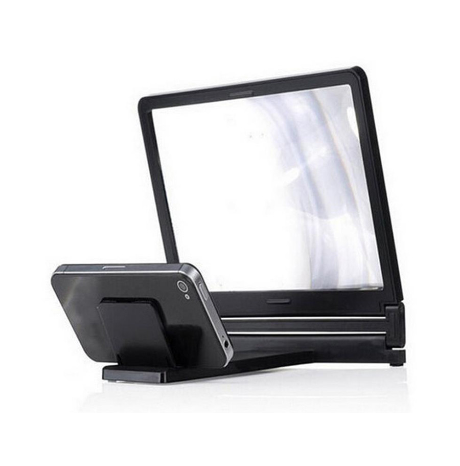 40@ 3D video screen amplifier folding expander bracket mobile desktop lazy iPad tablet universal portable small shelf