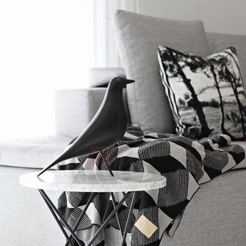 Livraison gratuite Pop Art 6 couleurs maison oiseau Designer oiseau ameublement haute qualité oiseau décorations résine artisanat meilleur pour toujours cadeau