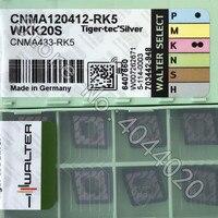 CNMA120412-RK5 WKK20S  CNMA433-RK5 WKK20S  10pcs WALTER CARBIDE INSERTS
