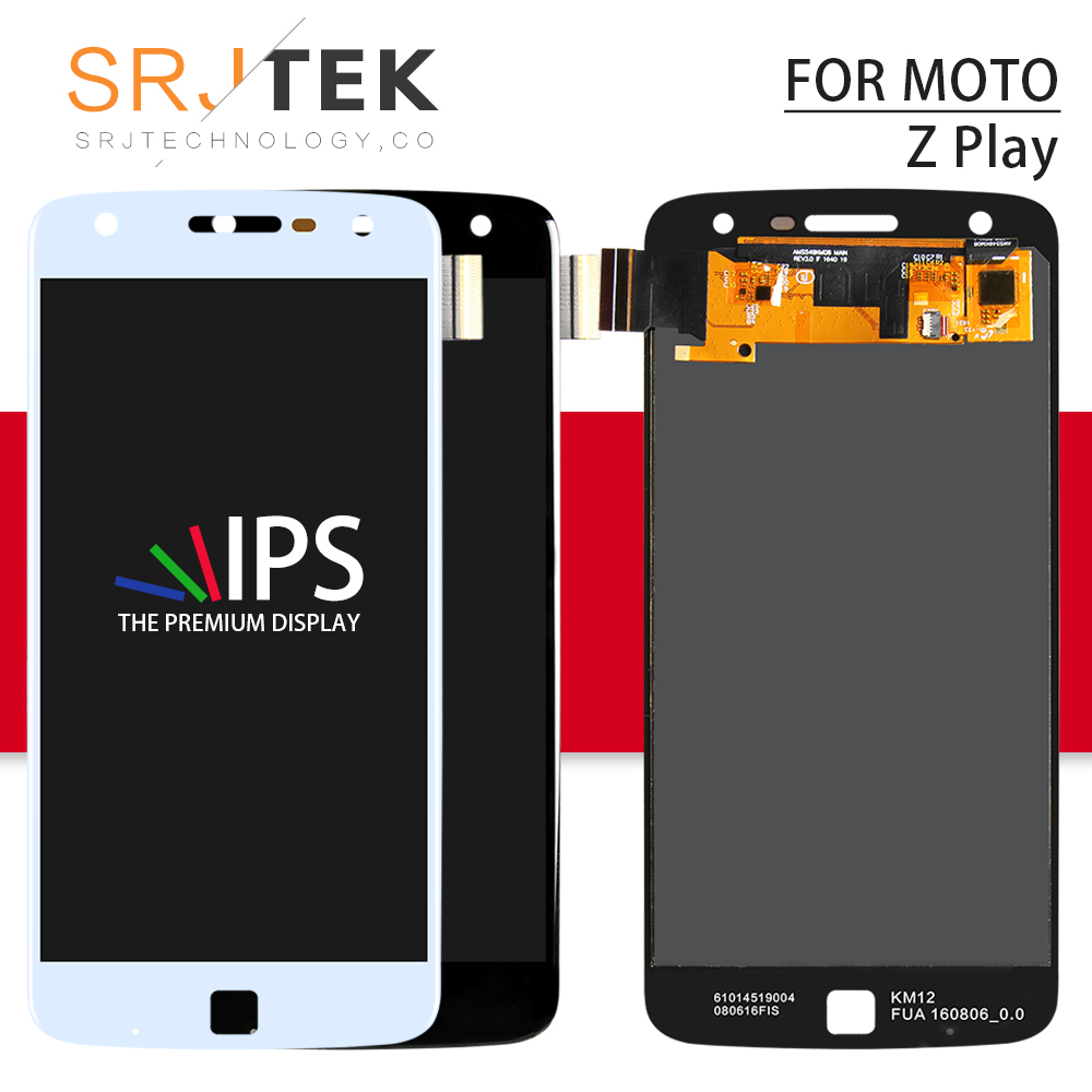 Srjtek Screen For Motorola Moto Z Play XT1635 LCD Display touch Screen with Glass Digitizer Assembly For Moto Z Play Display LCDSrjtek Screen For Motorola Moto Z Play XT1635 LCD Display touch Screen with Glass Digitizer Assembly For Moto Z Play Display LCD