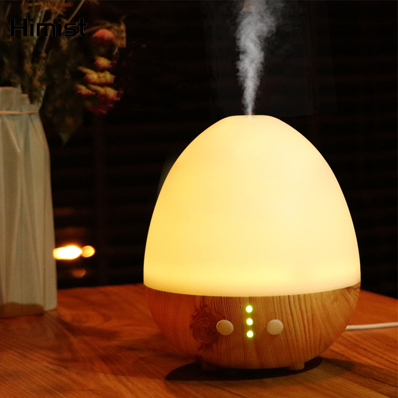 USB Aroma Essential Oil Diffuser Ultrasonic Cool Mist Humidifier Air Purifier Warm LED Night Light Aromatherapy Mist Maker