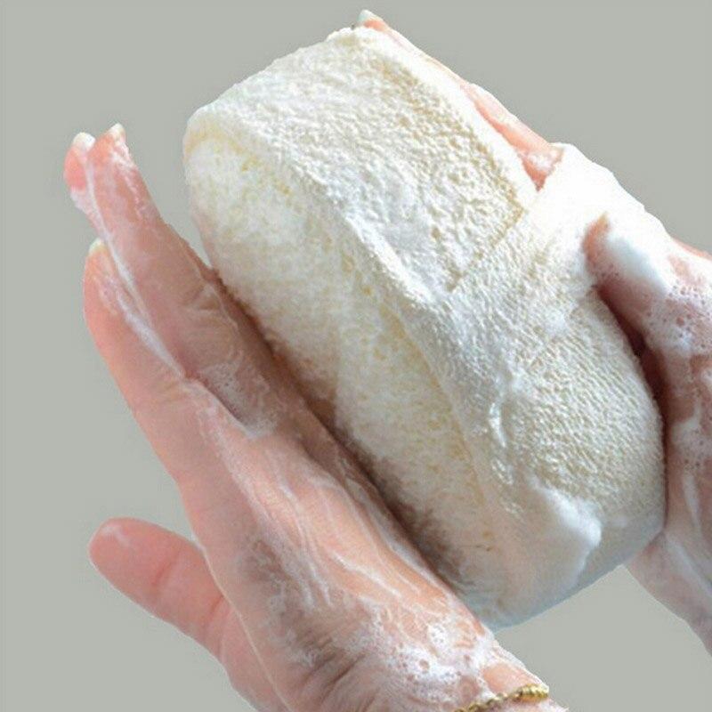 High Quality Soft Fresh Natural Loofah Luffa Sponge Shower Spa Body Scrubber Exfoliator Face Bathing Massage Brush Pad BeigeHigh Quality Soft Fresh Natural Loofah Luffa Sponge Shower Spa Body Scrubber Exfoliator Face Bathing Massage Brush Pad Beige