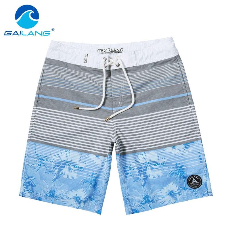 Gailang Brand Men Beach Shorts Quick Drying Men Shorts Casual Short Pants Plus Size XXXL Boardshort Sunga Bermuda Masculina