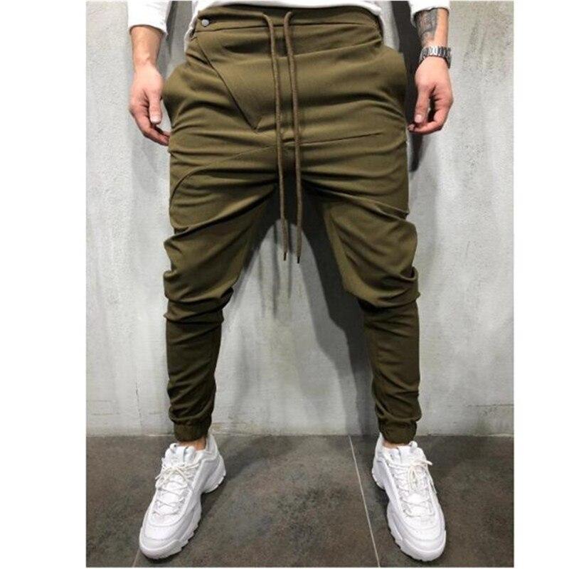 Men's New Jogging Pants Casual Knickerbockers Hip-hop Pants Men's Sweatpants