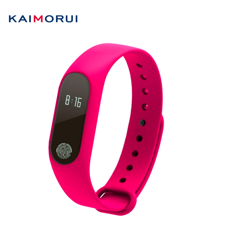 Kaimorui M2 Smart Band Heart Rate Monitor Sport Bracelet Clock Watch Inteligente Pulso for iOS Android