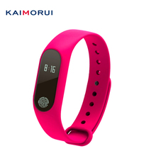 Kaimorui M2 Smart пульсометр спортивный браслет часы inteligente Pulso для IOS Android для мужчин