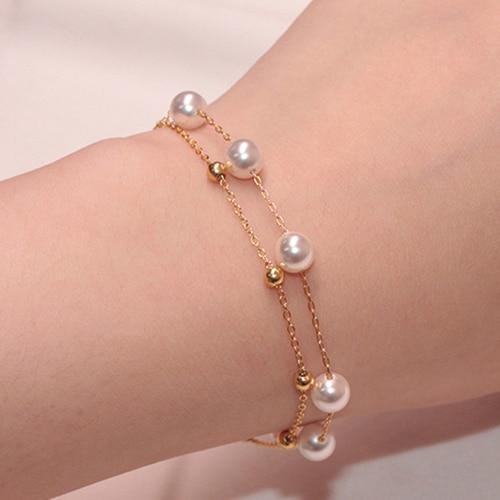 Imitation Pearl Charm...