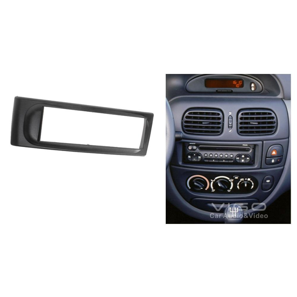 11 092 car audio facia for renault megane i scenic stereo dash kit fitting installation fascia. Black Bedroom Furniture Sets. Home Design Ideas