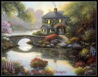 Needlework For Embroidery DIY French DMC High Quality Counted Cross Stitch Kits 14 Ct Oil Painting