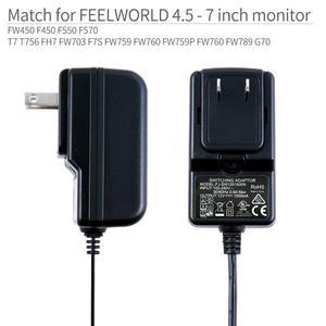 Image 2 - Feelworld fw DC 12V 1.5A di Commutazione di Alimentazione di Alimentazione Casa Adattatore di Alimentazione per 100V 240V AC 50/60 hz per Feelworld F570 T7 T756 FW759 FW759P
