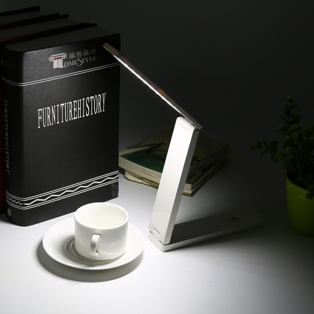 High Quality FX010A Folding 2W LED Table Lamp with Child Eye-Protection Light Desk Lamp for Study Portable LED Light Lamp