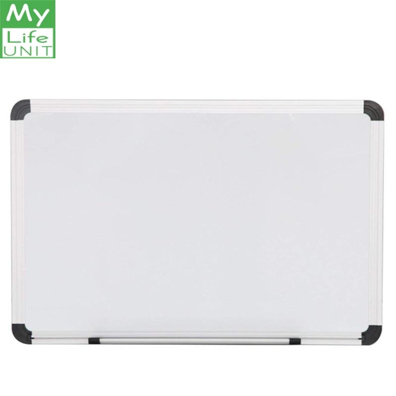 30×45 Cm Writing Magnetic Whiteboard Household Suspension Type Small Whiteboard Mini Graffiti Message Board