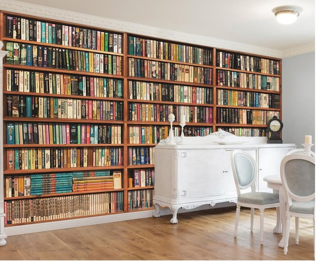 3d Wallpaper For Room European Style 3d Stereoscopic Library