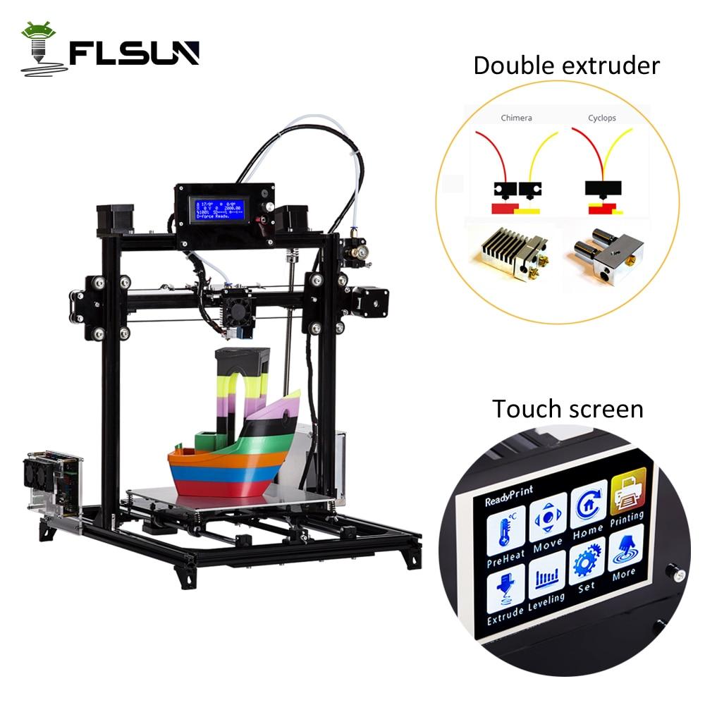 Flsun I3 DIY 3D Printer kit Large Printing Area 300 300 500mm Open Build Aluminium