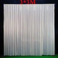 3*3 м/3x6 м (10 футов x20feet)/4*8 м Свадебный фон труба и драпировочный фон стенд с занавеской рамка из нержавеющей стали с фоном