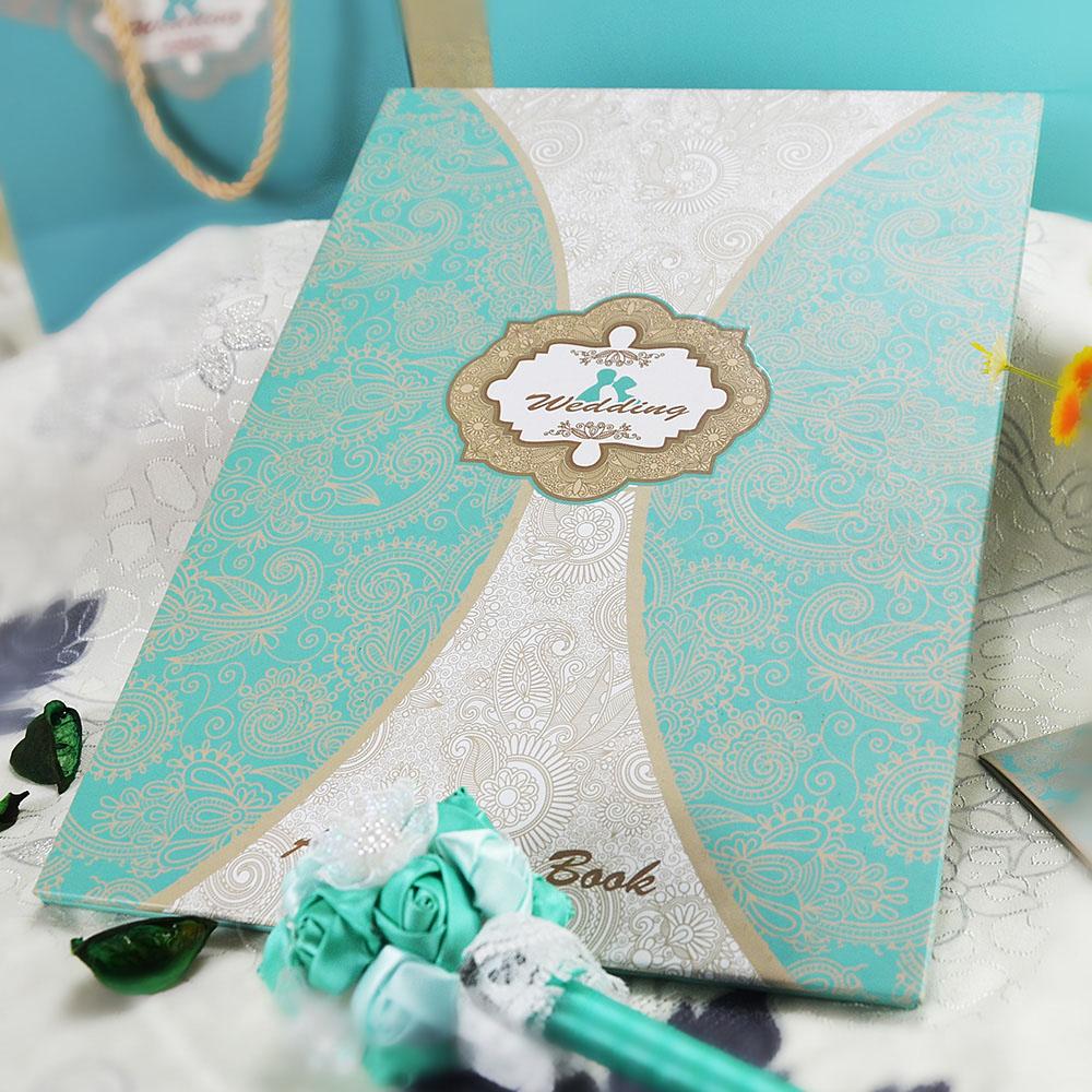 Tiffany Wedding Gift aliexpress com buy wedding guest book tiffany ...