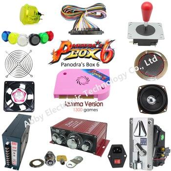 цена на 1300 in 1 game pcb to build up arcade machine arcade parts kit, pandora box 6 game pcb to build up 2 player arcade machine