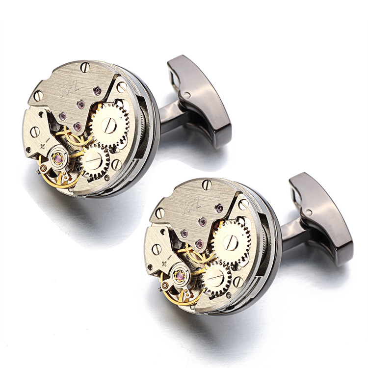immovable Watch Cufflinks  D (2)
