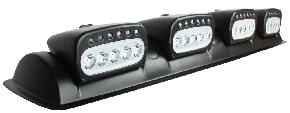 ФОТО Round Roof Top Led Light Bar Led Lights Off Road Fog Light Driving Round (38.7inch) Rectangle (37.8inch) for SUV Boat Truck Car